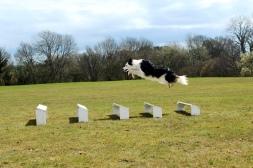 Izzy long jump