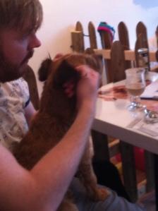Lionel now demanding his ear massage