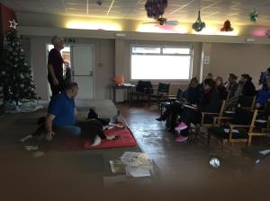 Dog massage seminar
